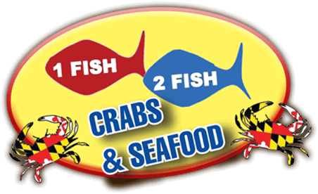 One Fish Two Fish Crabs & Seafood logo